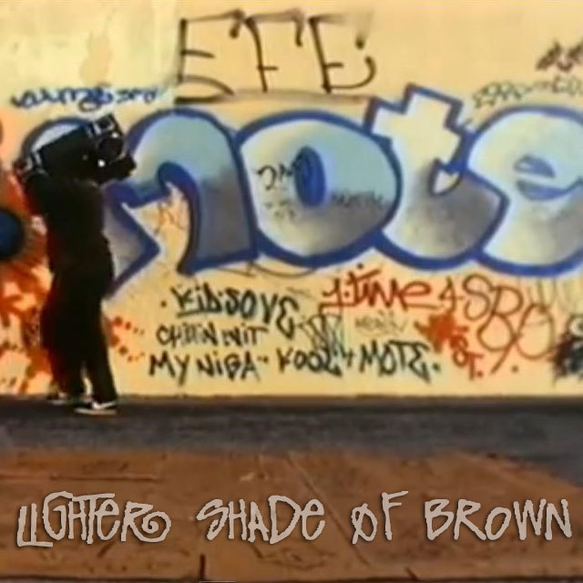 A Lighter Shade of Brown (LSOB) was a Mexican American hip hop duo from Riverside, California.LSOB was formed in 1990 by One Dope Mexican (Robert Gutierrez) and Don't Try To Xerox (Bobby Ramirez)