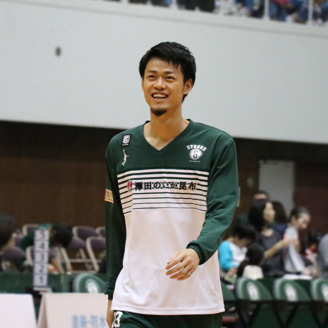 B.LEAGUE NISHINOMIYA STORKS #13 NORIAKI DOHARA