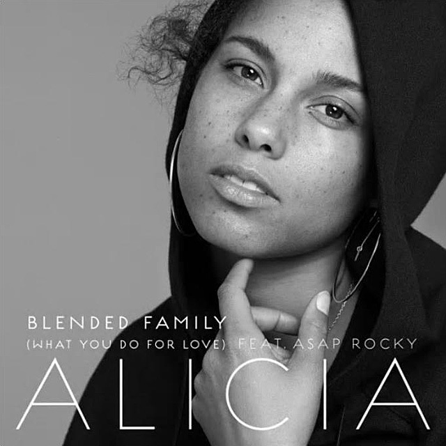 Alicia Keys and ASAP Rocky's Emotional Family Love Song Blended Family (What You Do For Love) HERE Swizz Beatz In Common