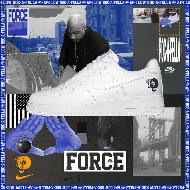 Nike Air Force 1 ROC-A-FELLA AO1070-101