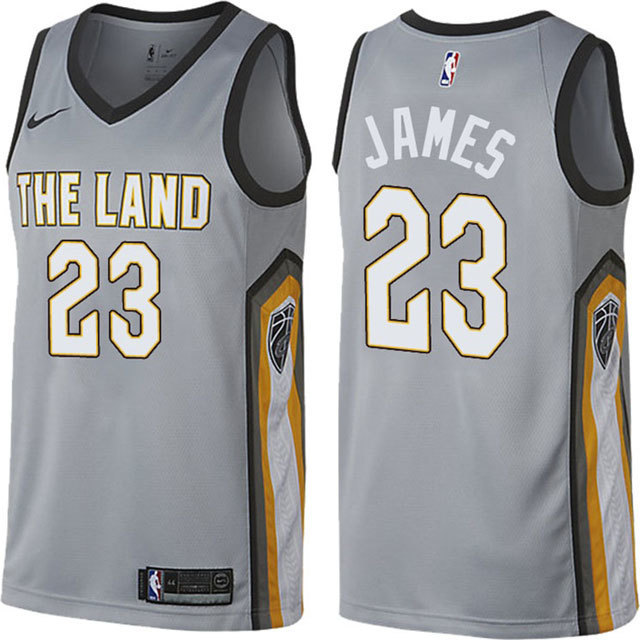NBA Cleaveland Cavaliers #23 LeBron James