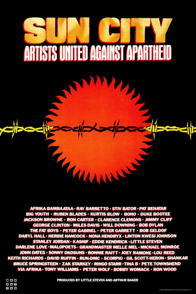 Artists United Against Apartheid - Sun City