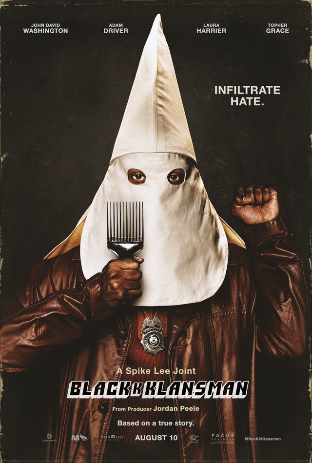 a Spike Lee joint BlacKkKlansman