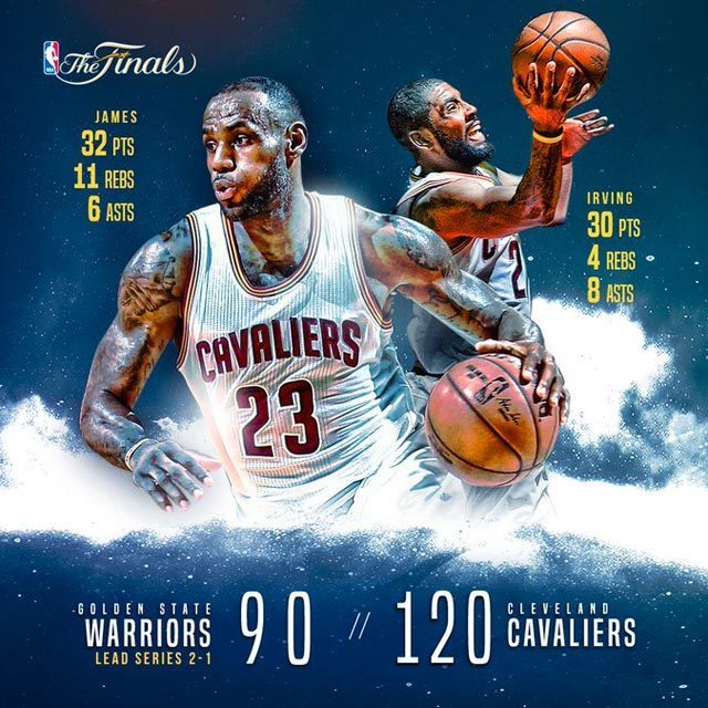 GSW vs CLE Game3
