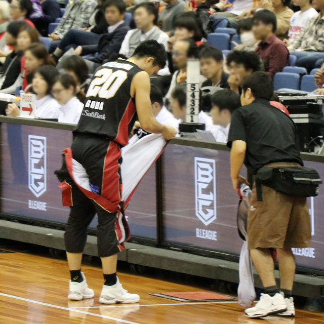 "B.LEAGUE OSAKA EVESSA #20 REI ""RAY"" GODA"