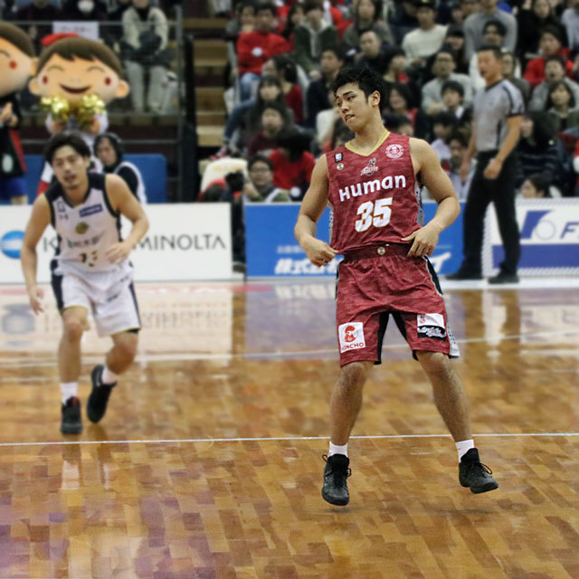 2017.2.4-5 B.LEAGUE OSAKA EVESSA TOCHIGI BREX 府民共済SUPERアリーナ KEITA SAWABE