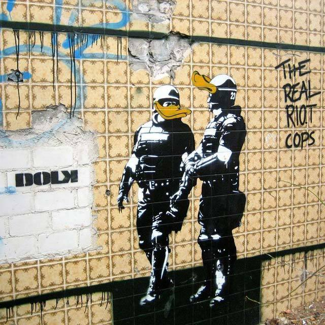 DOLK - the real riot cops