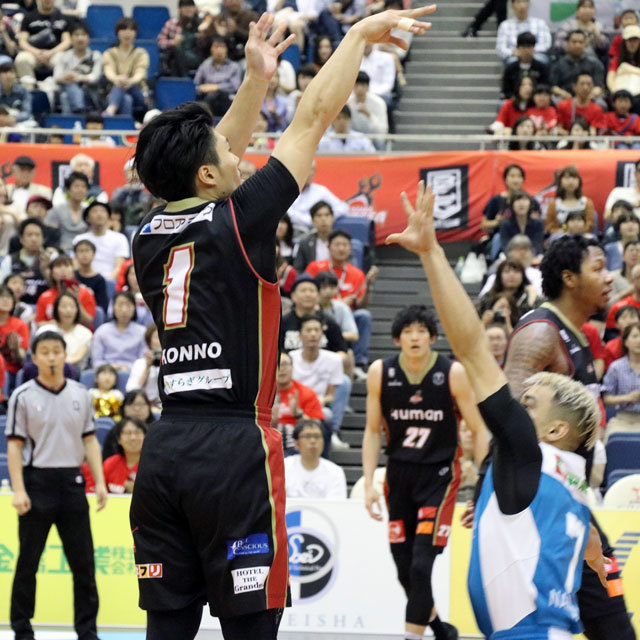B.LEAGUE OSAKA EVESSA #1 SHOTA KONNO photo by izy Rodriguez (Team Zion)